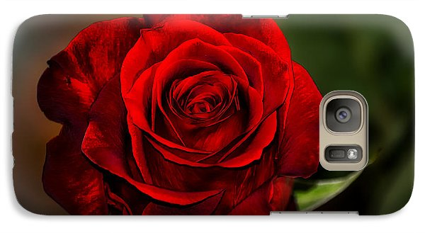 Galaxy Case featuring the photograph Red Velvet by Brenda Bostic