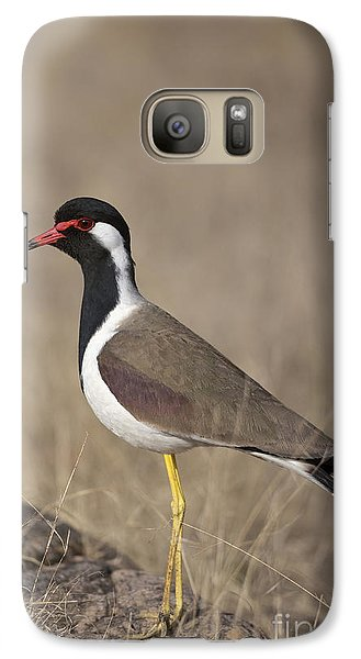 Red-wattled Lapwing Galaxy S7 Case