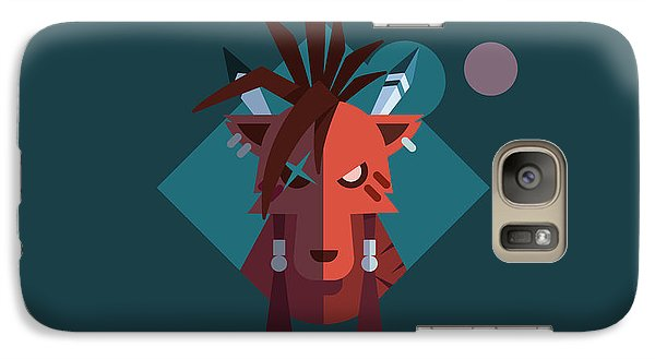 Galaxy Case featuring the digital art Red Xiii by Michael Myers