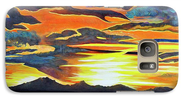 Galaxy Case featuring the painting Redemption by Dottie Branchreeves