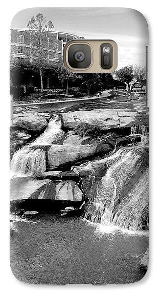 Galaxy Case featuring the photograph Reedy River by Corinne Rhode