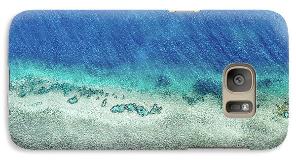 Helicopter Galaxy S7 Case - Reef Barrier by Az Jackson