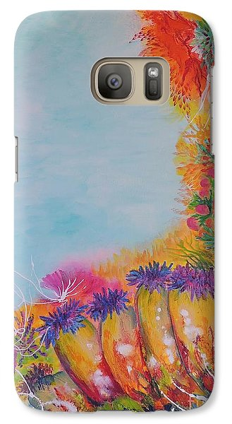 Galaxy Case featuring the painting Reef Corals by Lyn Olsen