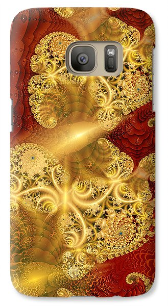 Galaxy Case featuring the digital art Reef Life by Richard Ortolano