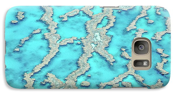 Galaxy Case featuring the photograph Reef Patterns by Az Jackson
