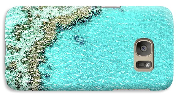 Galaxy Case featuring the photograph Reef Textures by Az Jackson
