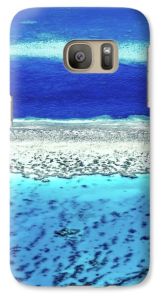 Helicopter Galaxy S7 Case - Reefs Edge by Az Jackson