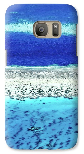 Galaxy Case featuring the photograph Reefs Edge by Az Jackson