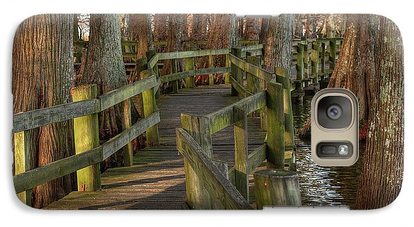 Galaxy Case featuring the photograph Reelfoot Lake 001 by Lance Vaughn