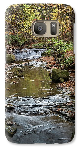 Galaxy Case featuring the photograph Reflecting Autumn by Dale Kincaid
