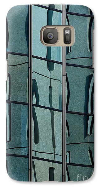 Galaxy Case featuring the photograph Reflecting Eagle 1 by Werner Padarin