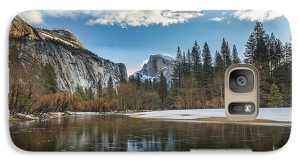 Reflecting On Half Dome Galaxy S7 Case