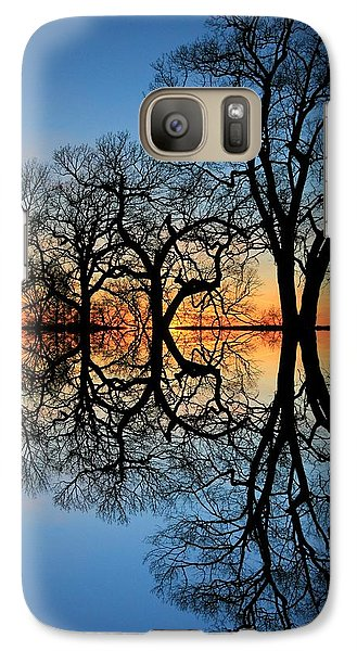 Galaxy Case featuring the photograph Reflecting On Tonight by Chris Berry
