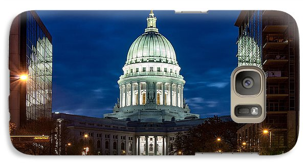 Capitol Building Galaxy S7 Case - Reflection Surrounded by Todd Klassy