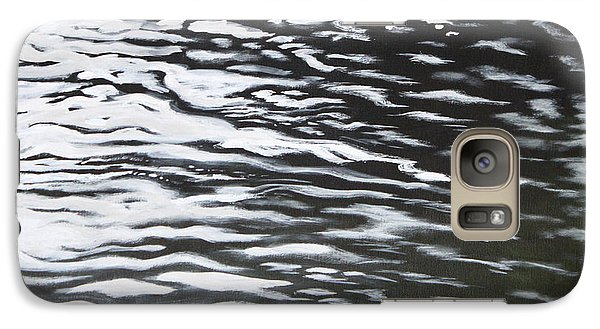 Galaxy Case featuring the painting Reflections by Antonio Romero