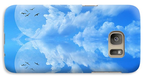 Galaxy Case featuring the photograph Reflections by Bernd Hau