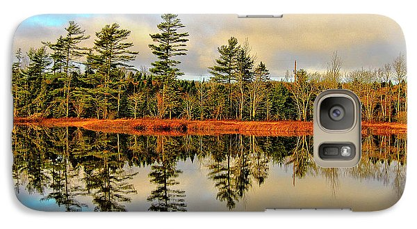 Galaxy Case featuring the photograph Reflections by Kathleen Sartoris