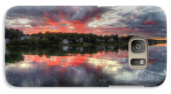 Galaxy Case featuring the photograph Reflections Of A Summer Sky by Adrian LaRoque