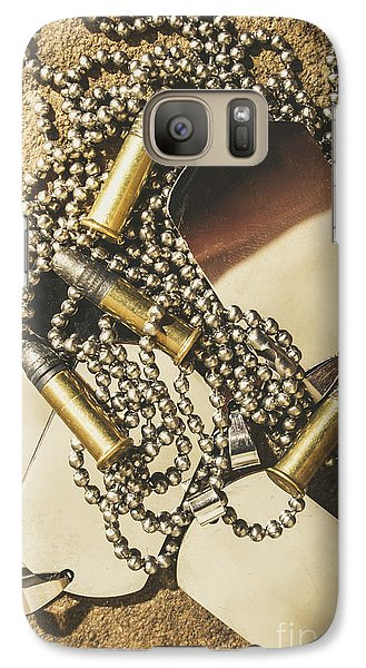 Galaxy Case featuring the photograph Reflections Of Battle by Jorgo Photography - Wall Art Gallery
