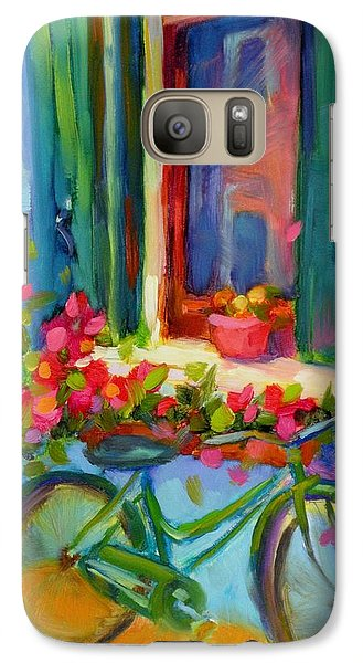 Galaxy Case featuring the painting Reflections Of Burano by Chris Brandley