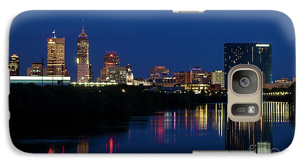 Galaxy Case featuring the photograph Reflections Of Indy - D009911 by Daniel Dempster