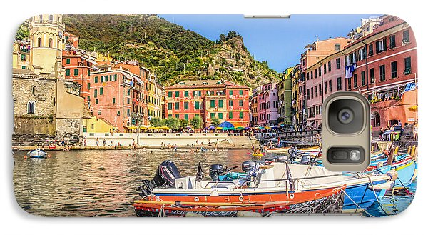 Galaxy Case featuring the photograph Reflections Of Italy by Brent Durken