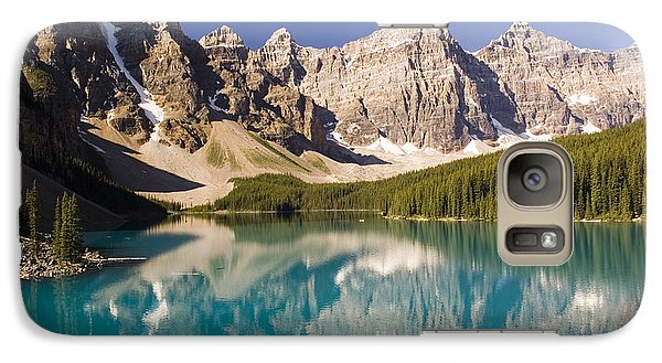 Galaxy Case featuring the photograph Reflections Of Moraine Lake by Andrew Serff