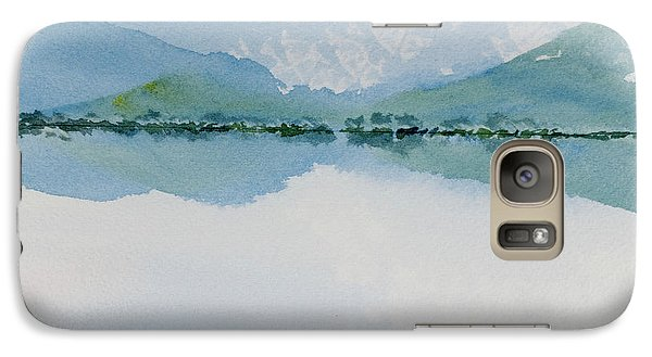 Reflections Of The Skies And Mountains Surrounding Bathurst Harbour Galaxy S7 Case