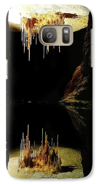 Galaxy Case featuring the photograph Reflections Of The Underworld by Marion Cullen
