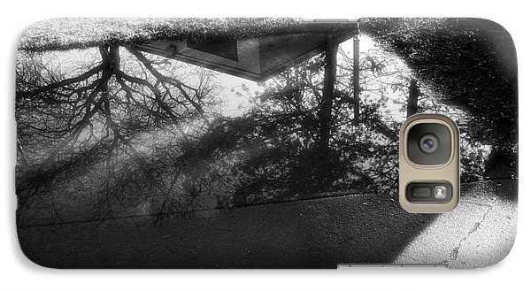 Galaxy Case featuring the photograph Reflections Of Two Loves by Jeanette O'Toole