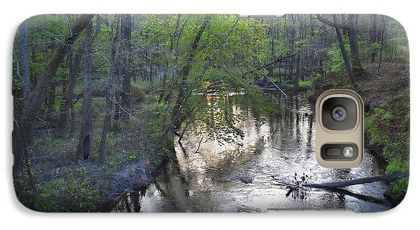 Galaxy Case featuring the photograph Reflections On The Congaree Creek by Skip Willits