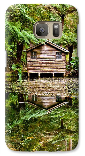 Featured Images Galaxy S7 Case - Reflections On The Pond by Az Jackson