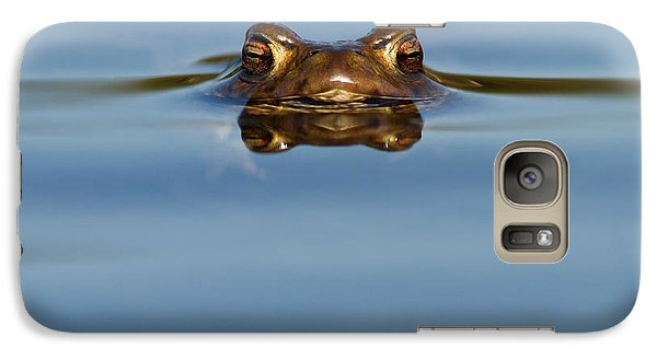 Reflections - Toad In A Lake Galaxy S7 Case