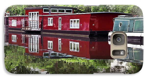 Galaxy Case featuring the photograph Regent Houseboats by Keith Armstrong