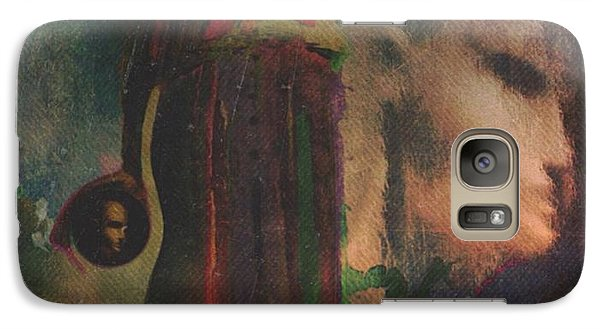 Galaxy Case featuring the digital art Reincarnation by Alexis Rotella