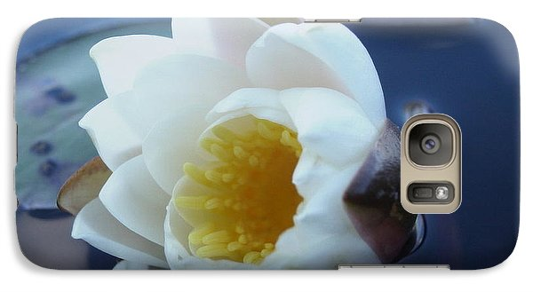 Galaxy Case featuring the painting Relaxing In The Pond by Martha Ayotte