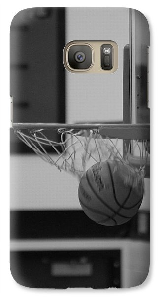 Galaxy Case featuring the photograph Release From The Net by Laddie Halupa
