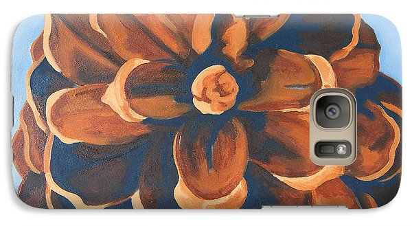 Galaxy Case featuring the painting Released by Erin Fickert-Rowland