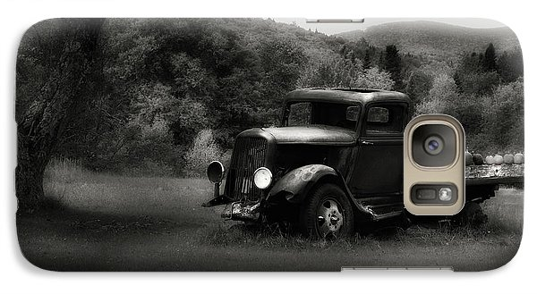 Galaxy S7 Case featuring the photograph Relic Truck by Bill Wakeley
