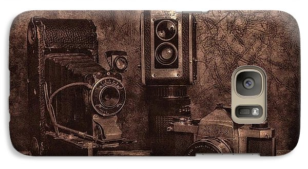 Galaxy Case featuring the photograph Relics by Mark Fuller
