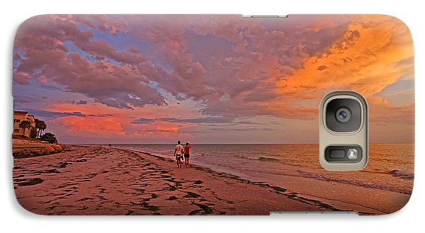 Galaxy Case featuring the photograph Remains Of The Day by HH Photography of Florida