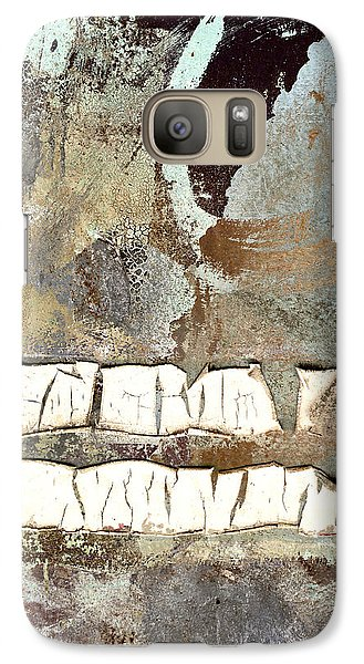 Galaxy Case featuring the photograph Remains Unsaid by Carol Leigh