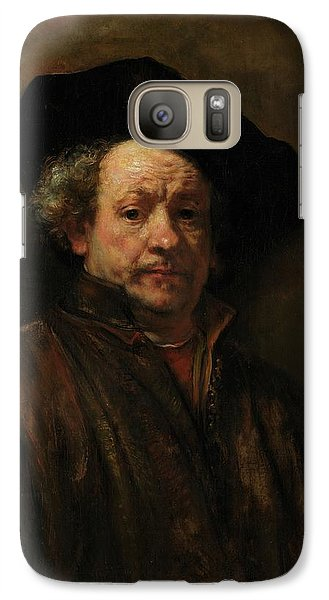 Galaxy Case featuring the painting Rembrandt Self Portrait by Rembrandt van Rijn