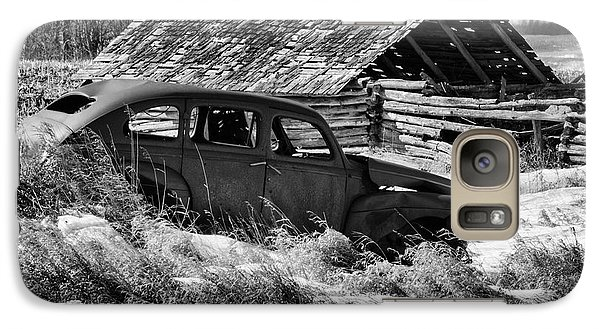 Galaxy Case featuring the photograph Remember The Past Work For The Future by Bob Christopher
