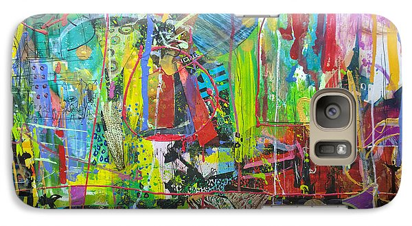 Galaxy Case featuring the painting Remember The Soapbox by Robert Anderson