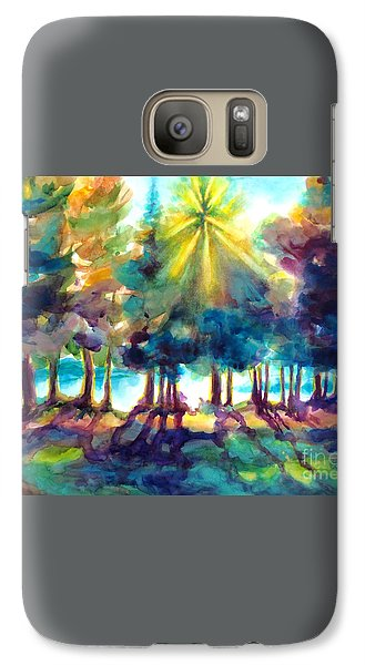 Galaxy Case featuring the painting Remember The Son by Kathy Braud