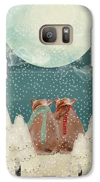 Galaxy Case featuring the painting Remember The Time by Bri B