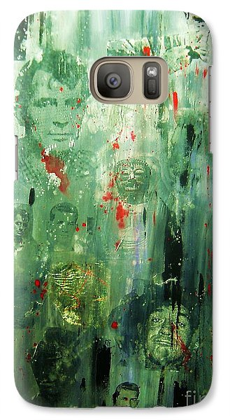 Galaxy Case featuring the painting Remembering Kerouac by Roberto Prusso