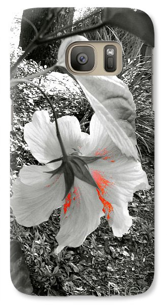 Galaxy Case featuring the photograph Remembrance by Cathy Dee Janes