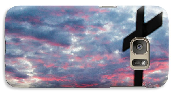 Galaxy Case featuring the photograph Reminded by Robin Coaker